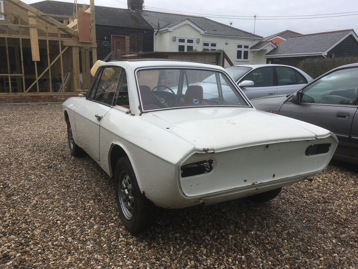 1975 Lancia Fulvia 1.3 Coupe Project SOLD (picture 1 of 6)