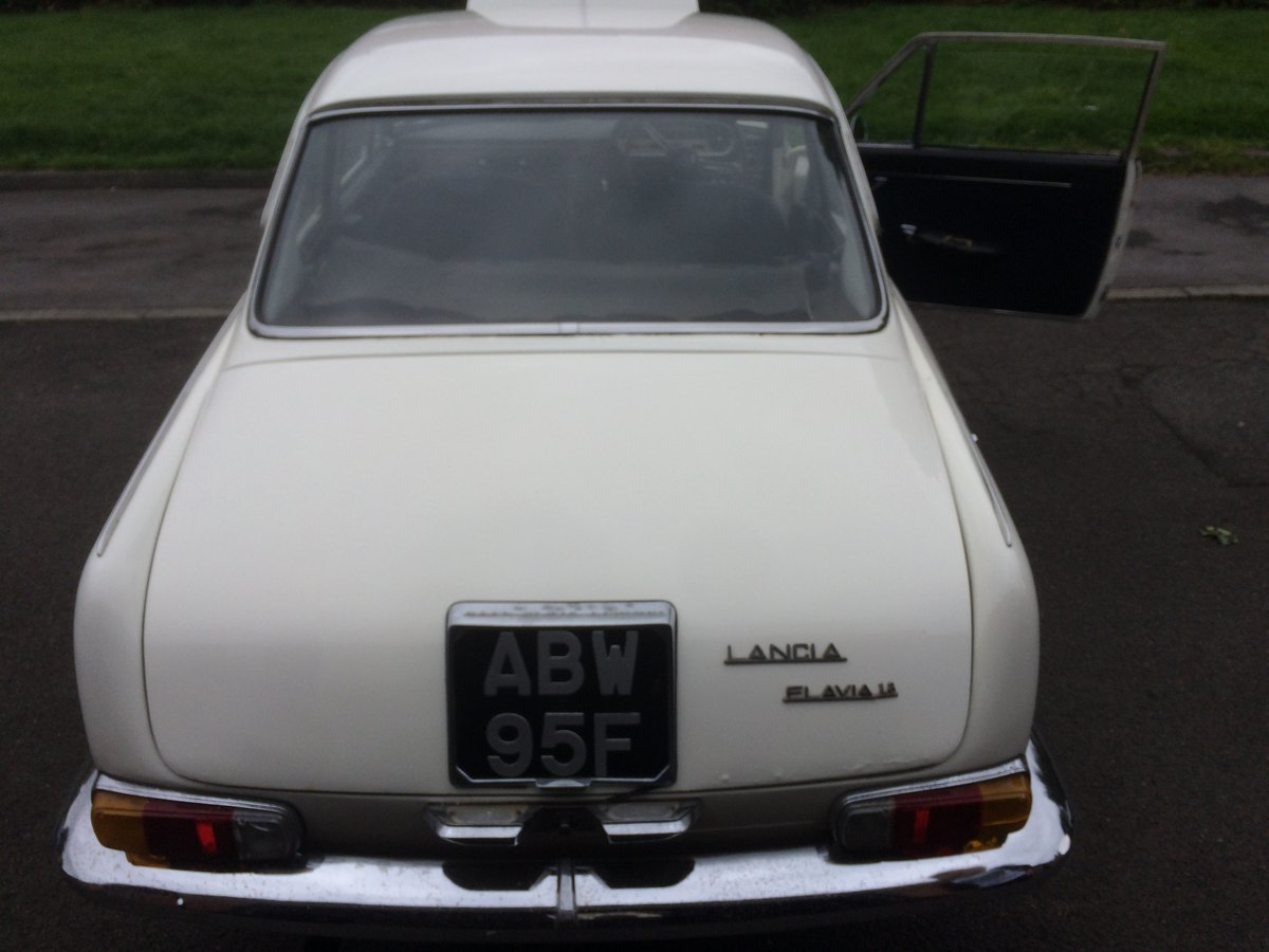 1968 Lancia Flavia Pininfirina Coupee For Sale (picture 2 of 6)