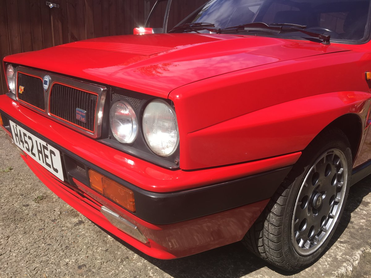 1990 Lancia Delta Integrale, 1991 8v kat, 12 mo MOT SOLD (picture 1 of 6)