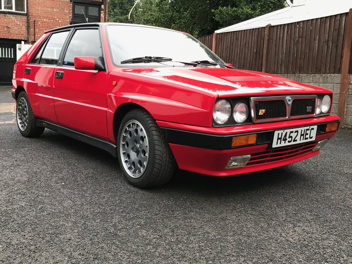 1990 Lancia Delta Integrale, 1991 8v kat, 12 mo MOT SOLD (picture 2 of 6)