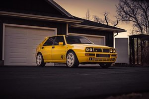 1994 Lancia Delta Giallo Ginestra EVO 2 - 1/220 Limited Editions For Sale