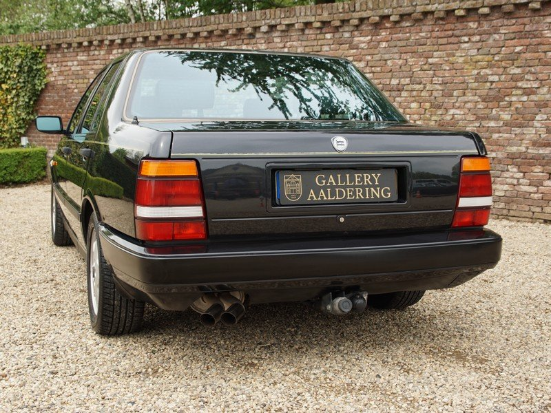1991 Lancia Thema 8.32 Ferrari V8 only 121.573 km, only 1.167 mad For Sale (picture 6 of 6)