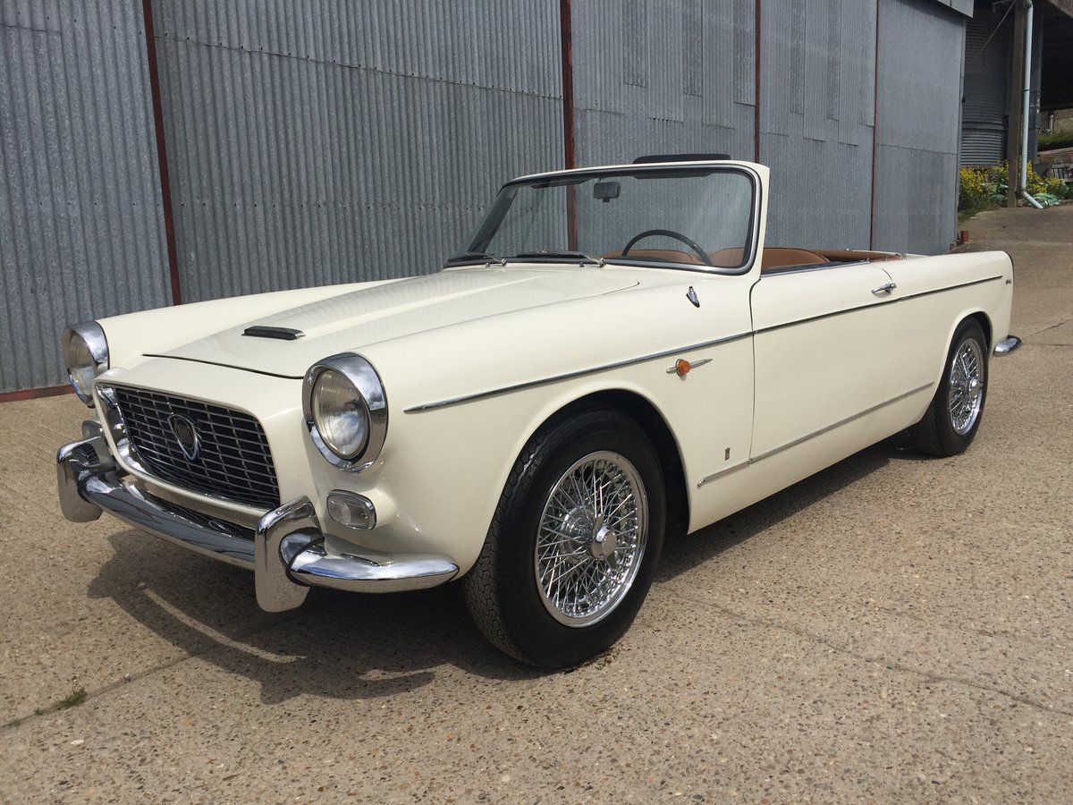 Stunning 1960 Lancia Appia Cabriolet by Vignale For Sale (picture 1 of 6)