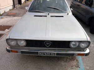 1976 Lancia Beta HPE 1600 First Series Project For Sale