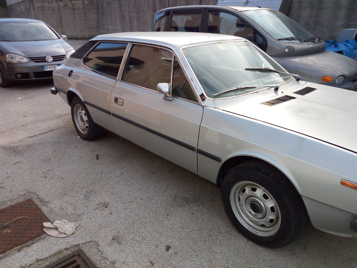 1976 Lancia Beta HPE 1600 First Series Project For Sale (picture 3 of 6)