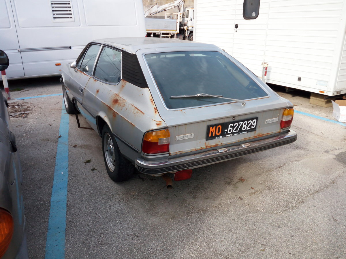 1976 Lancia Beta HPE 1600 First Series Project For Sale (picture 4 of 6)