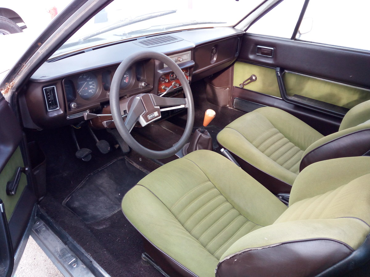 1976 Lancia Beta HPE 1600 First Series Project For Sale (picture 5 of 6)