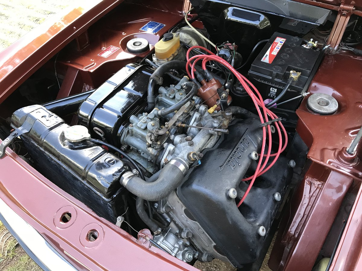 1973 Lancia Fulvia 1.3S Series 2  - Right Hand Drive For Sale (picture 5 of 6)