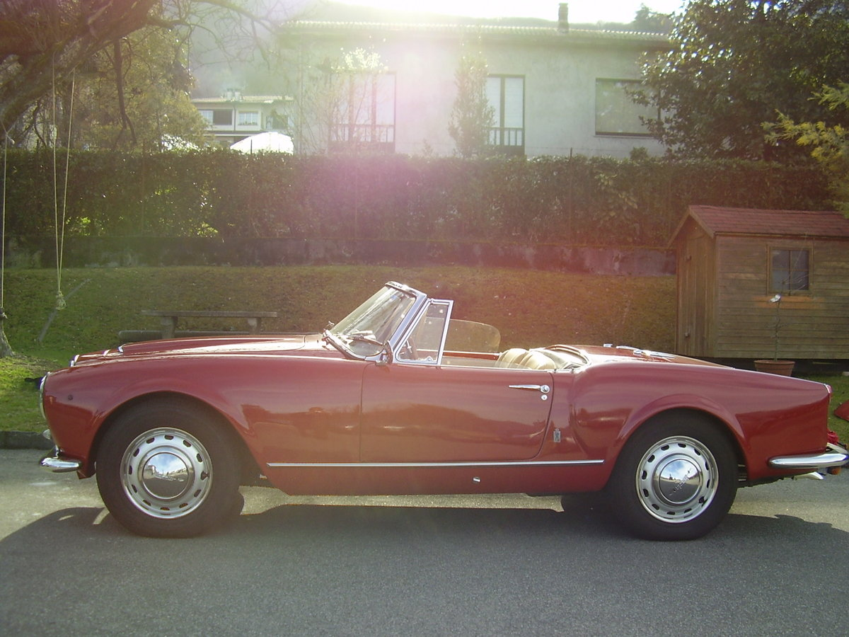 1957 Lancia Aurelia B 24 S For Sale (picture 4 of 6)