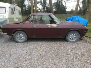 1973 LANCIA FULVIA COUPE-RHD SERIES 2 TO RESTORE SOLD