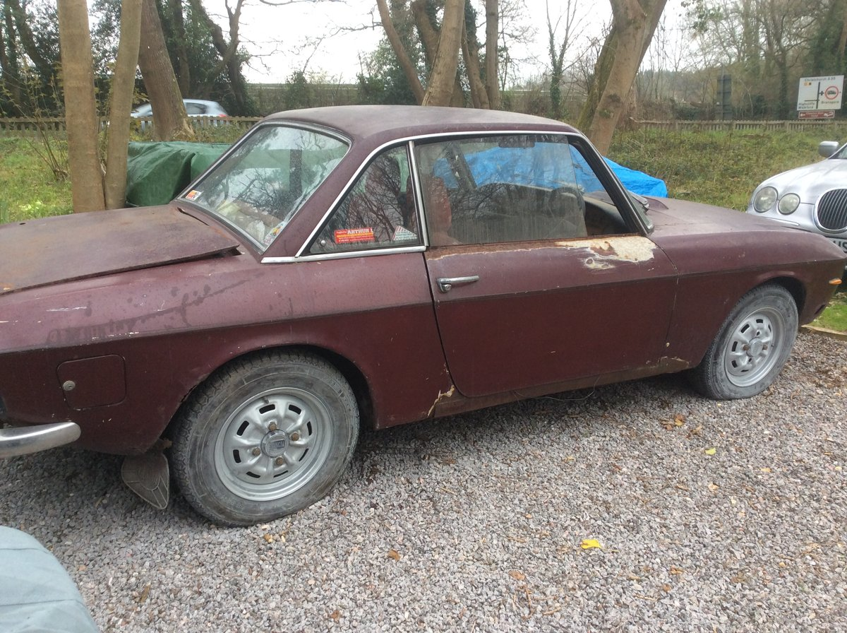 1973 LANCIA FULVIA COUPE-RHD SERIES 2 TO RESTORE SOLD (picture 2 of 2)