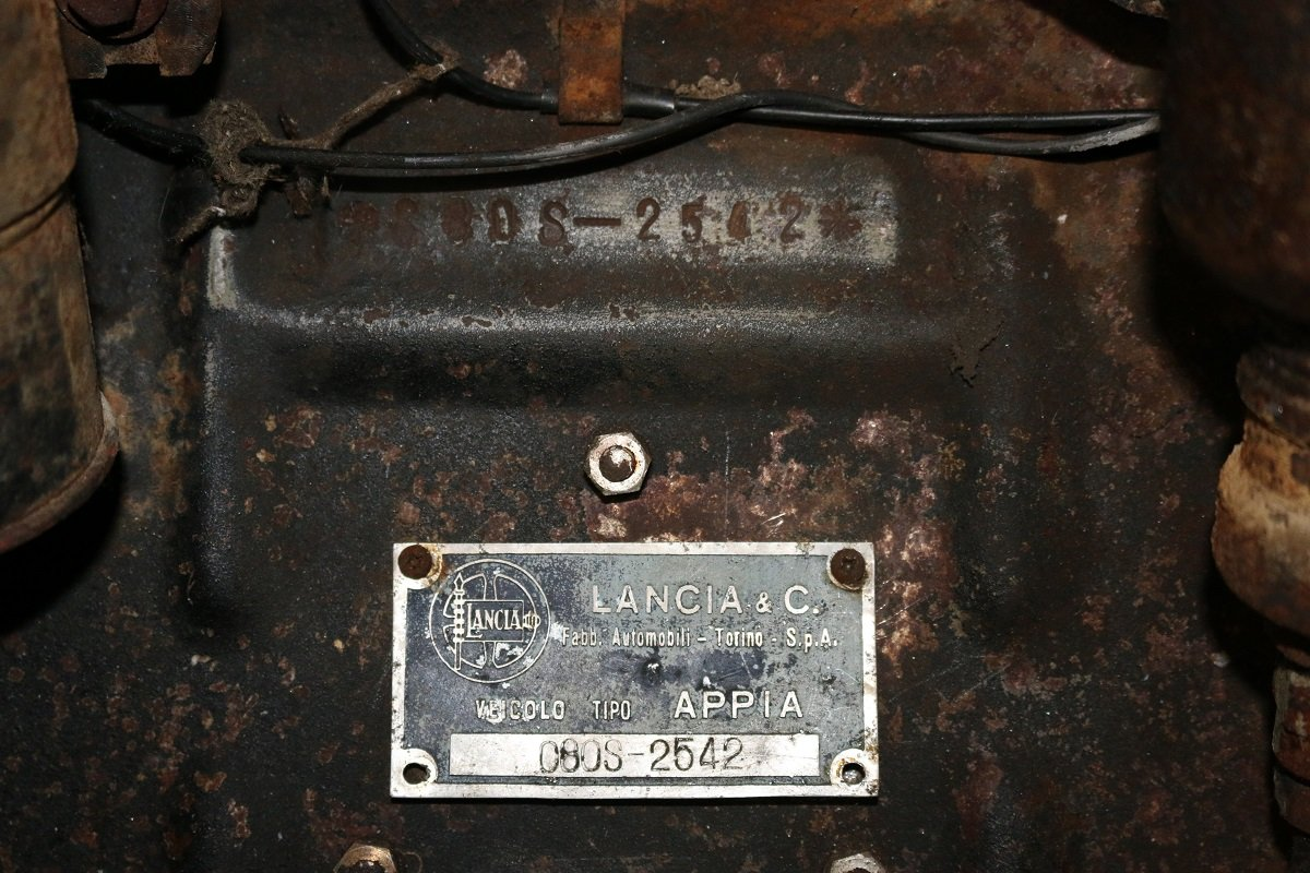 1958 LANCIA APPIA FURGONCINO For Sale (picture 5 of 6)