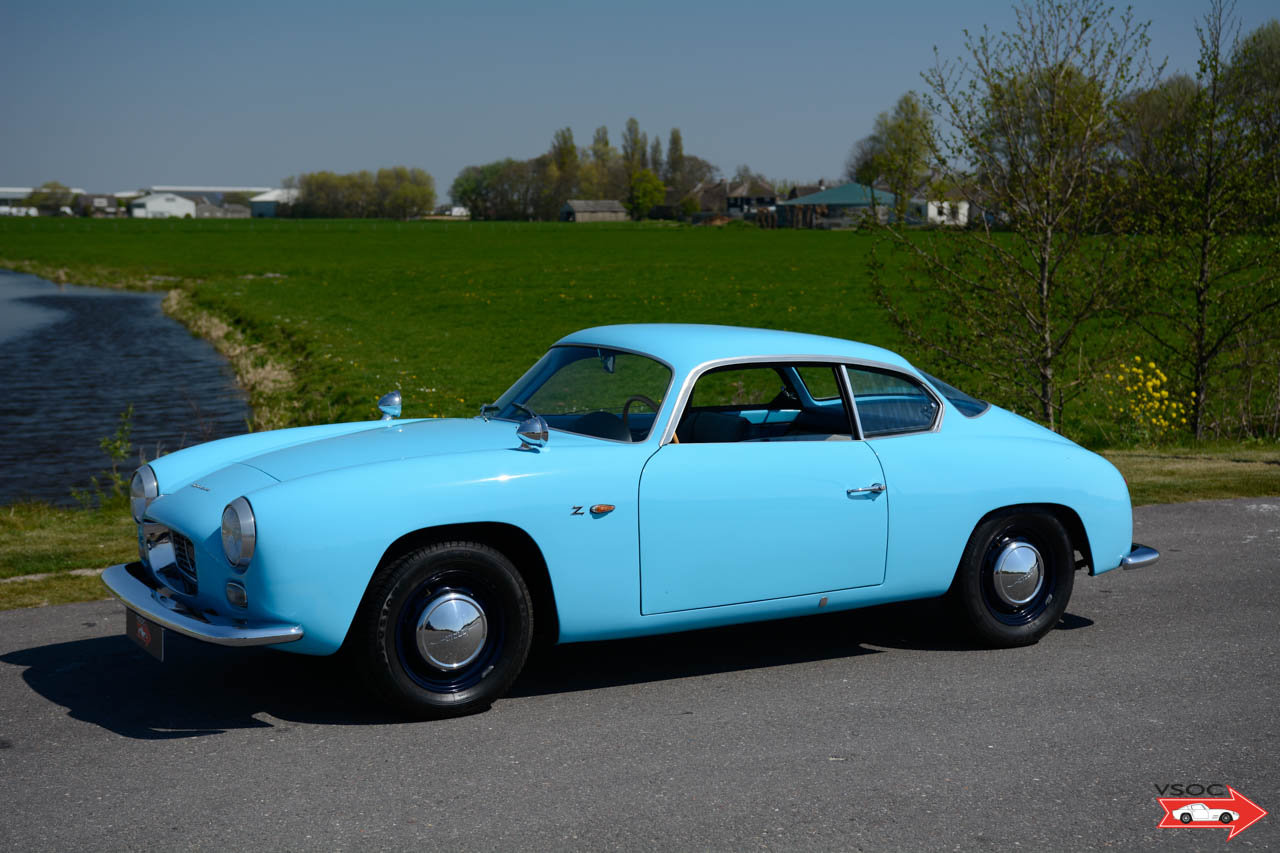 1962 Lancia Appia Sport Zagato very rare, in beautiful condition For Sale (picture 1 of 6)