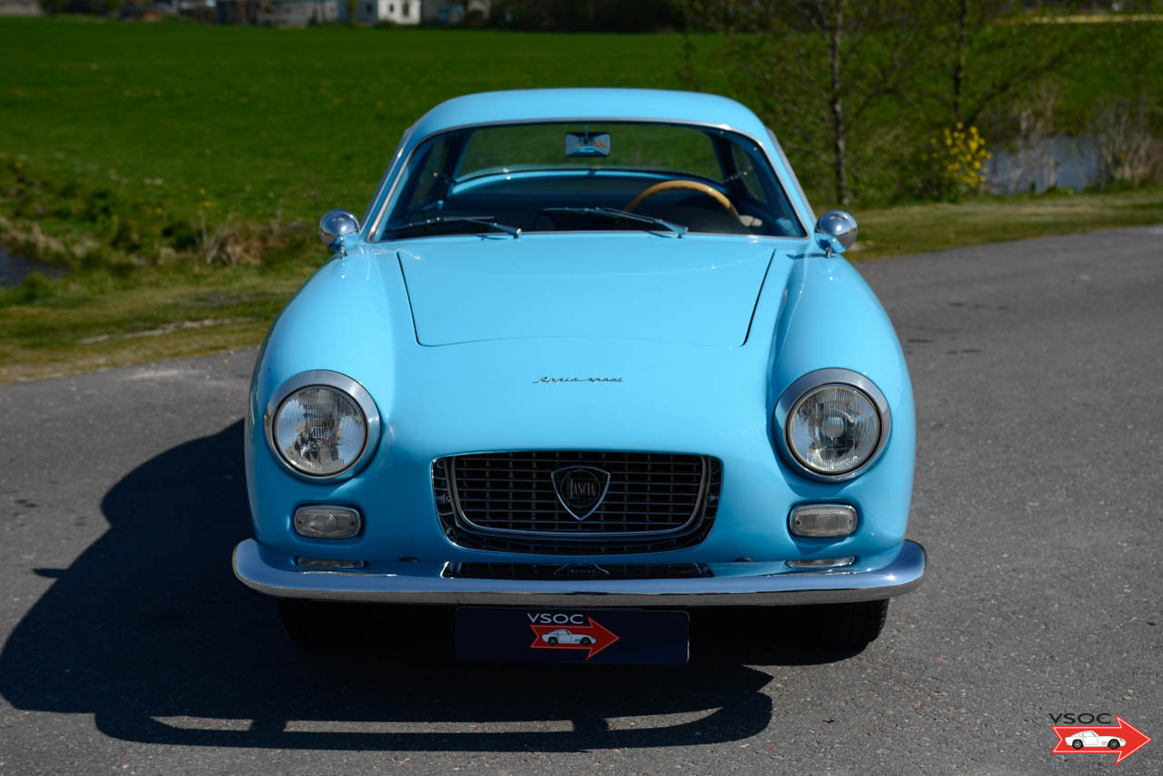 1962 Lancia Appia Sport Zagato very rare, in beautiful condition For Sale (picture 3 of 6)