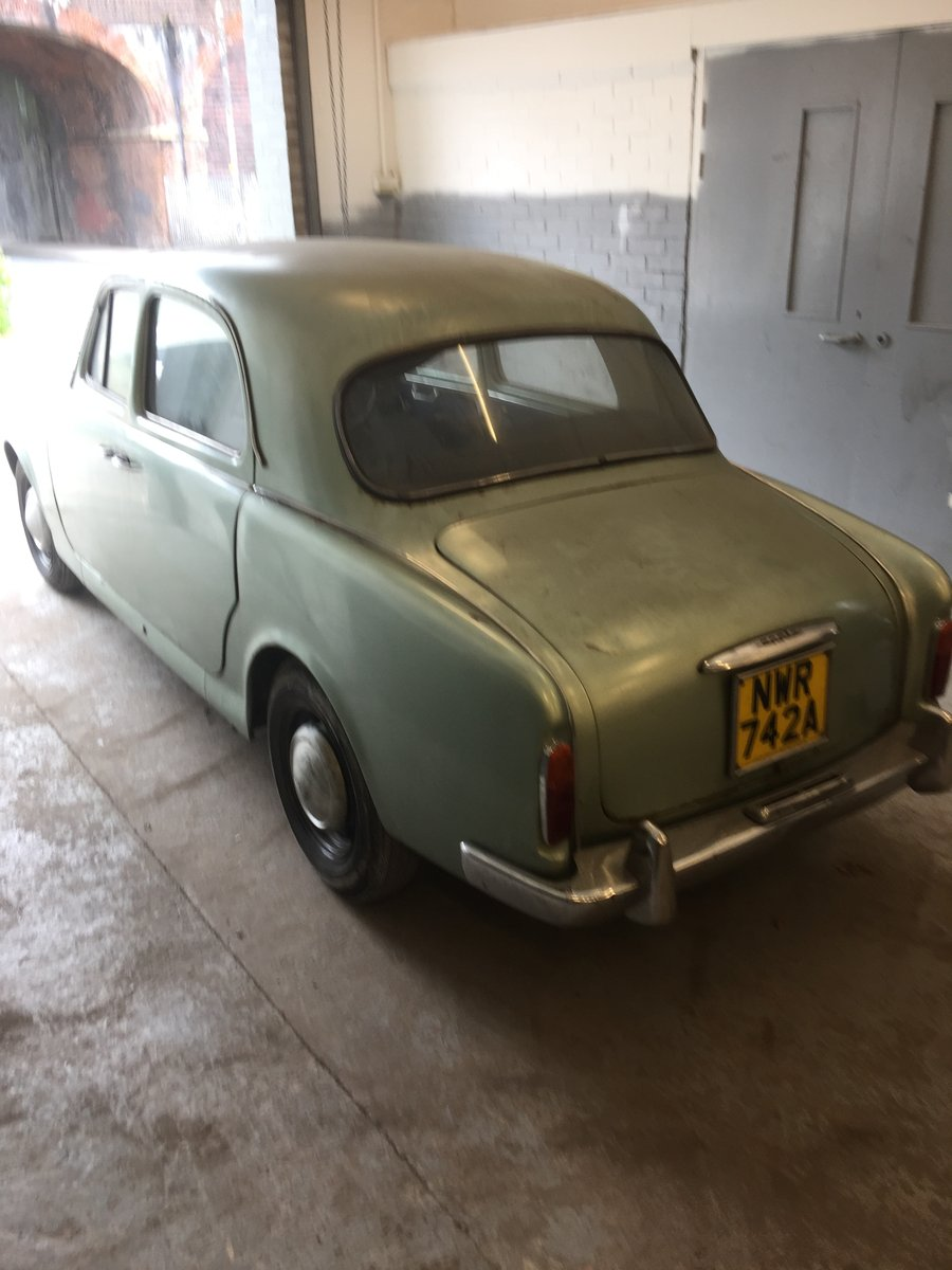Lancia Appia Series 3- Rhd 1963 - low miles - 61k - 1 owner For Sale (picture 1 of 6)