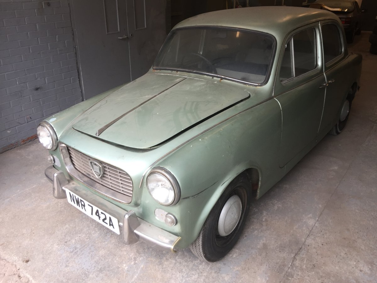 Lancia Appia Series 3- Rhd 1963 - low miles - 61k - 1 owner For Sale (picture 2 of 6)