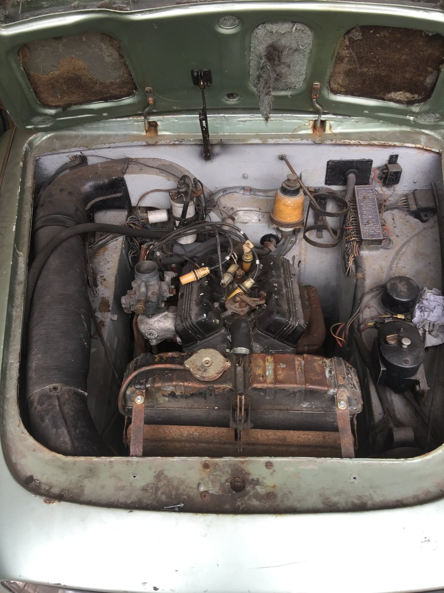 Lancia Appia Series 3- Rhd 1963 - low miles - 61k - 1 owner For Sale (picture 5 of 6)