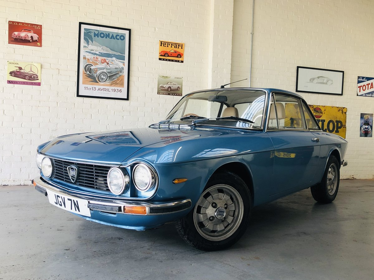 1975 UK RHD FULVIA S3 1300S COUPE - GREAT PRICE SOLD (picture 1 of 6)