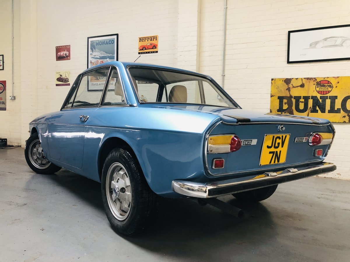 1975 UK RHD FULVIA S3 1300S COUPE - GREAT PRICE SOLD (picture 2 of 6)