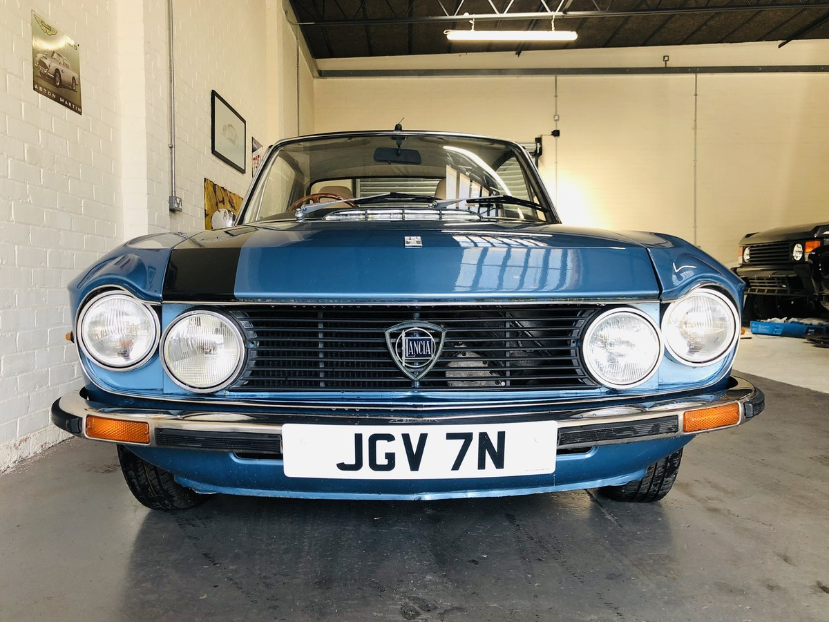 1975 UK RHD FULVIA S3 1300S COUPE - GREAT PRICE SOLD (picture 4 of 6)