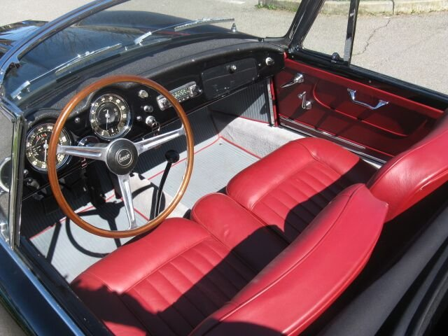 1961 Stunning Lancia Flaminia GT Cabriolet 1C 2.5 liter For Sale (picture 4 of 6)