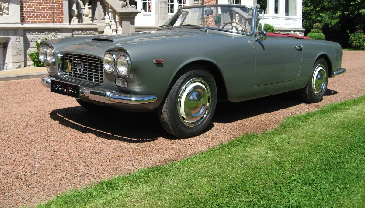 1961 Stunning Lancia Flaminia GT Cabriolet 1C 2.5 liter For Sale (picture 1 of 6)