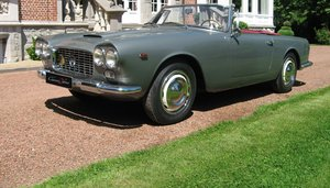1961 Stunning Lancia Flaminia GT Cabriolet 1C 2.5 liter For Sale