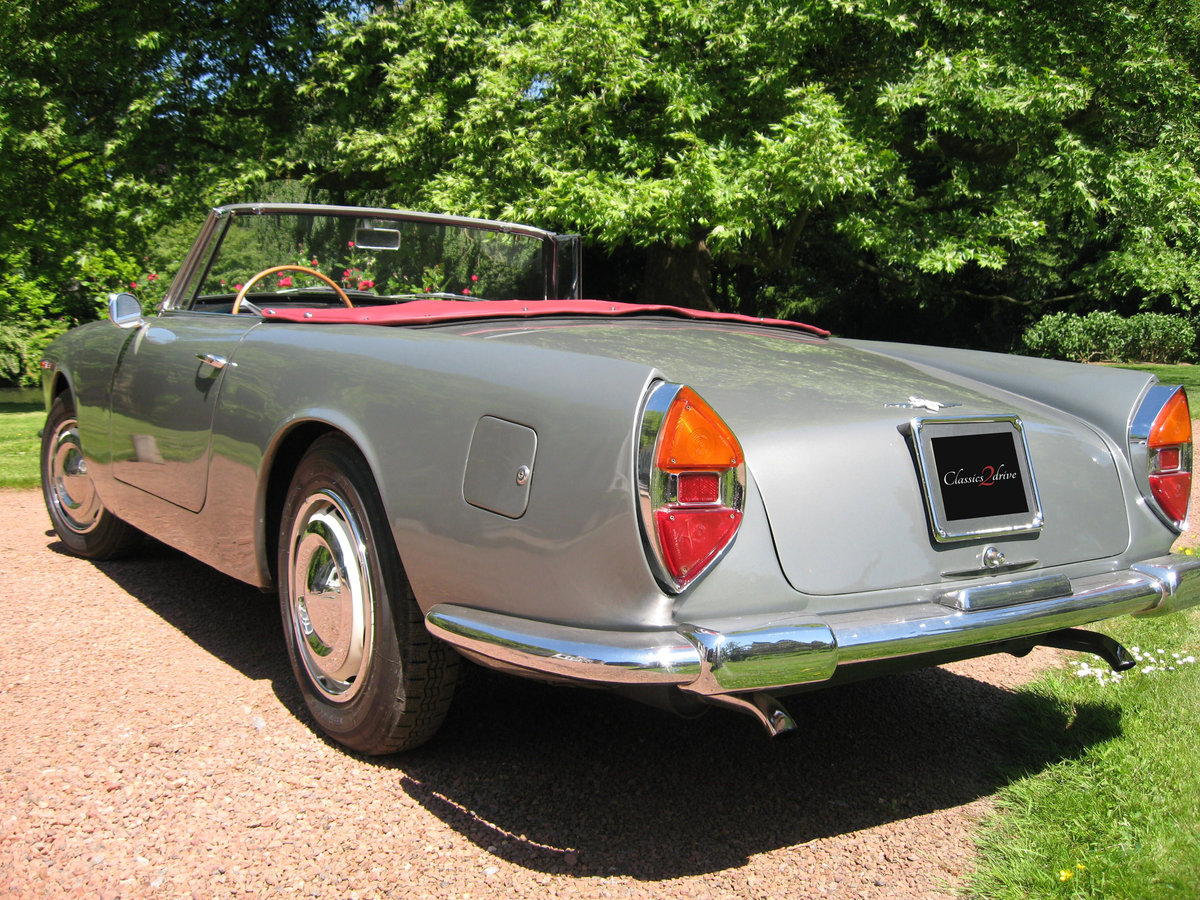 1961 Stunning Lancia Flaminia GT Cabriolet 1C 2.5 liter For Sale (picture 3 of 6)