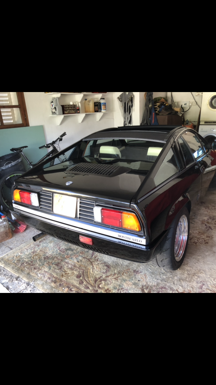 1982 Lancia Montecarlo spider s2 For Sale (picture 6 of 6)