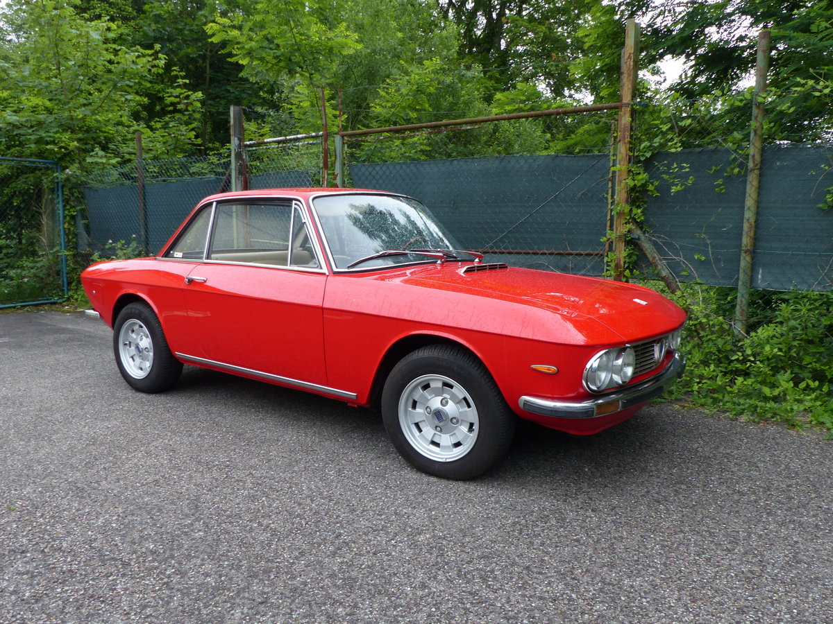 1973 Marvellous Lancia Fulvia Coupe, rust-free, Cromodora rims SOLD (picture 1 of 6)