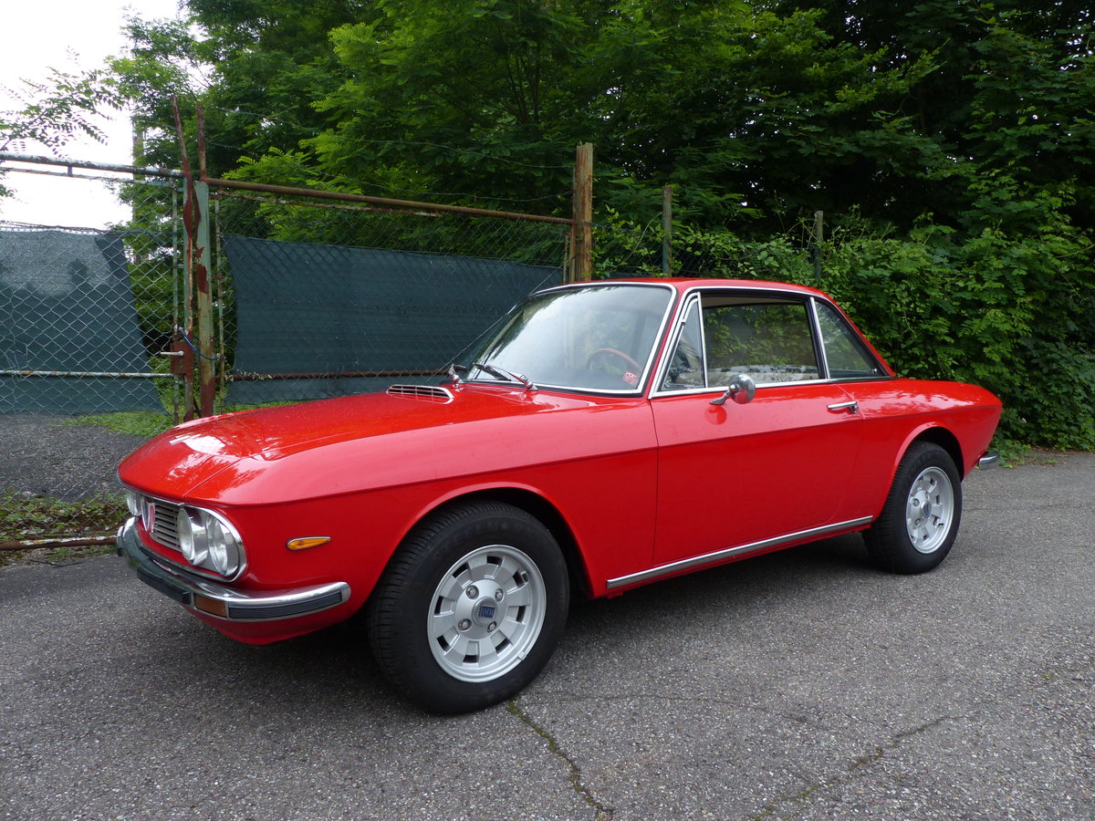 1973 Marvellous Lancia Fulvia Coupe, rust-free, Cromodora rims SOLD (picture 2 of 6)