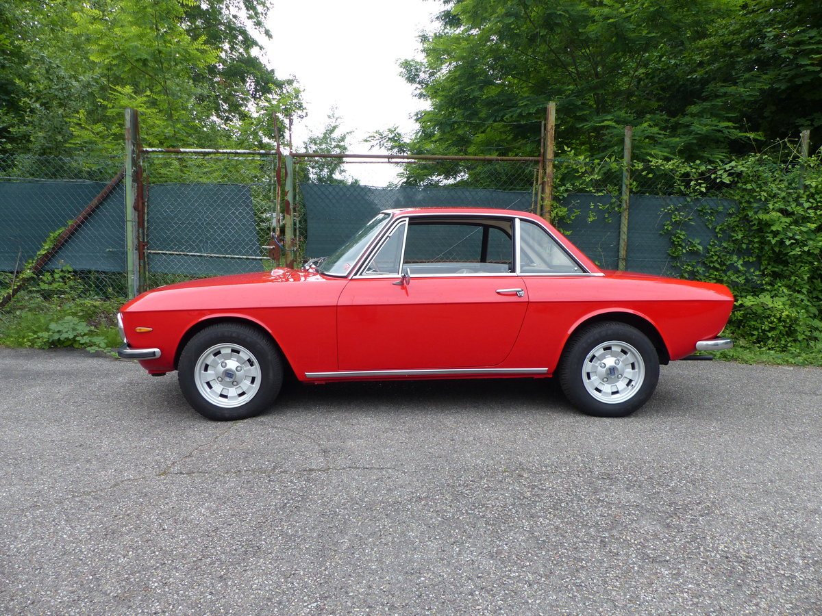 1973 Marvellous Lancia Fulvia Coupe, rust-free, Cromodora rims SOLD (picture 4 of 6)