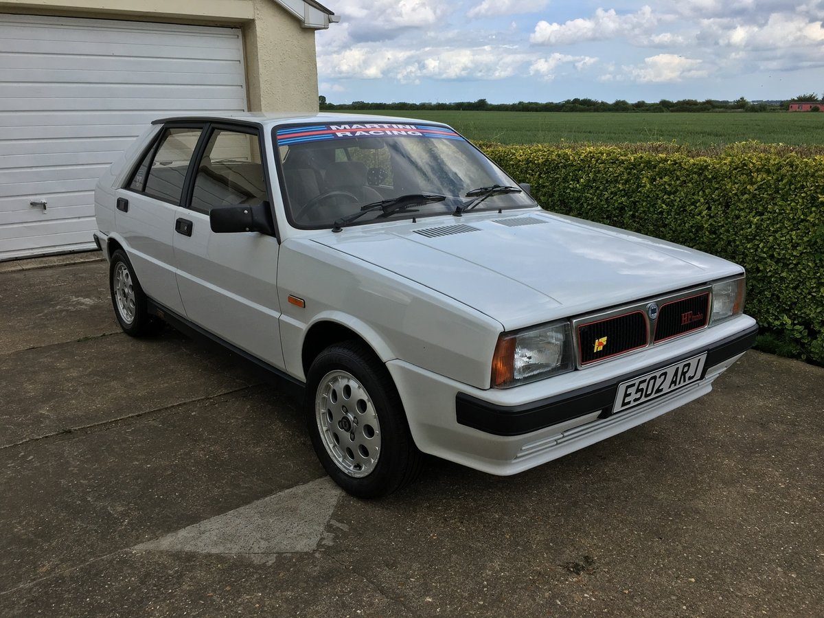1988 Lancia Delta HF Turbo RHD FULL MOT 73,000 Miles For Sale (picture 1 of 6)