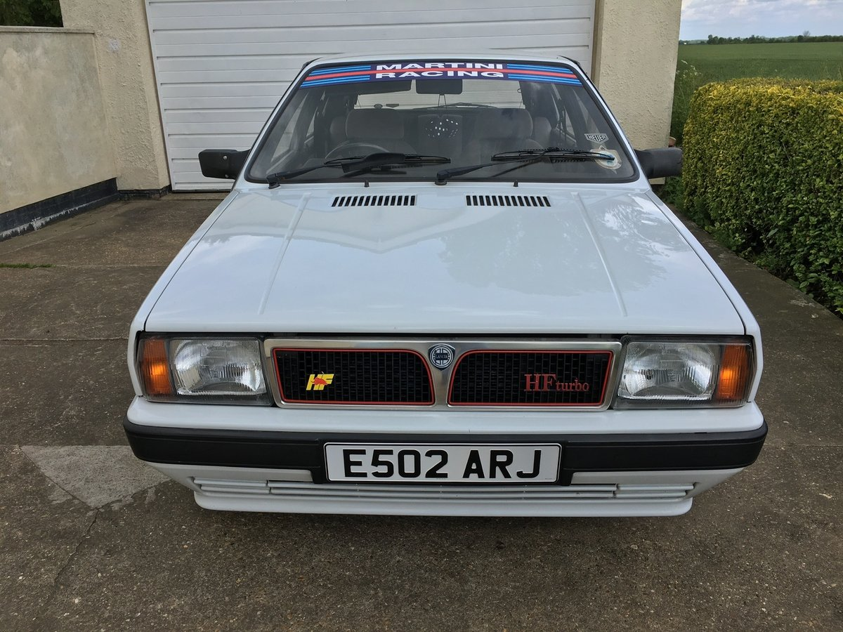 1988 Lancia Delta HF Turbo RHD FULL MOT 73,000 Miles For Sale (picture 3 of 6)