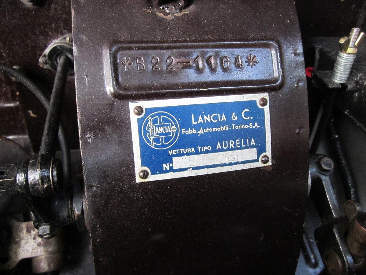 1952 Lancia Aurelia B22 For Sale (picture 6 of 6)