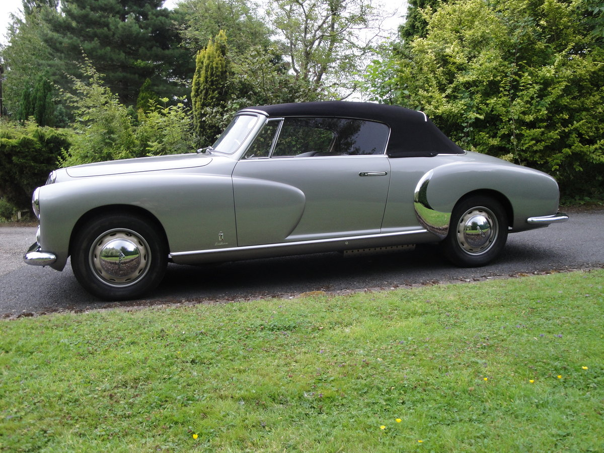 1951 Lancia pinin farina b50 cabriolet For Sale (picture 2 of 6)