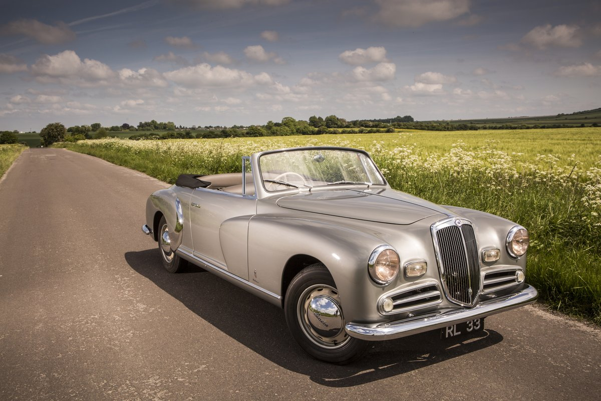 1951 Lancia pinin farina b50 cabriolet For Sale (picture 5 of 6)