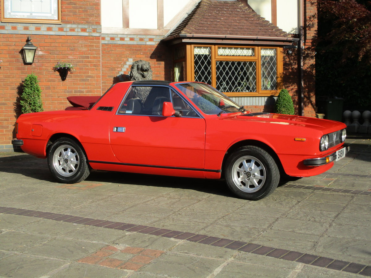 1980 Ultra Rare Lancia Beta Spyder Collector Quality SOLD (picture 4 of 6)