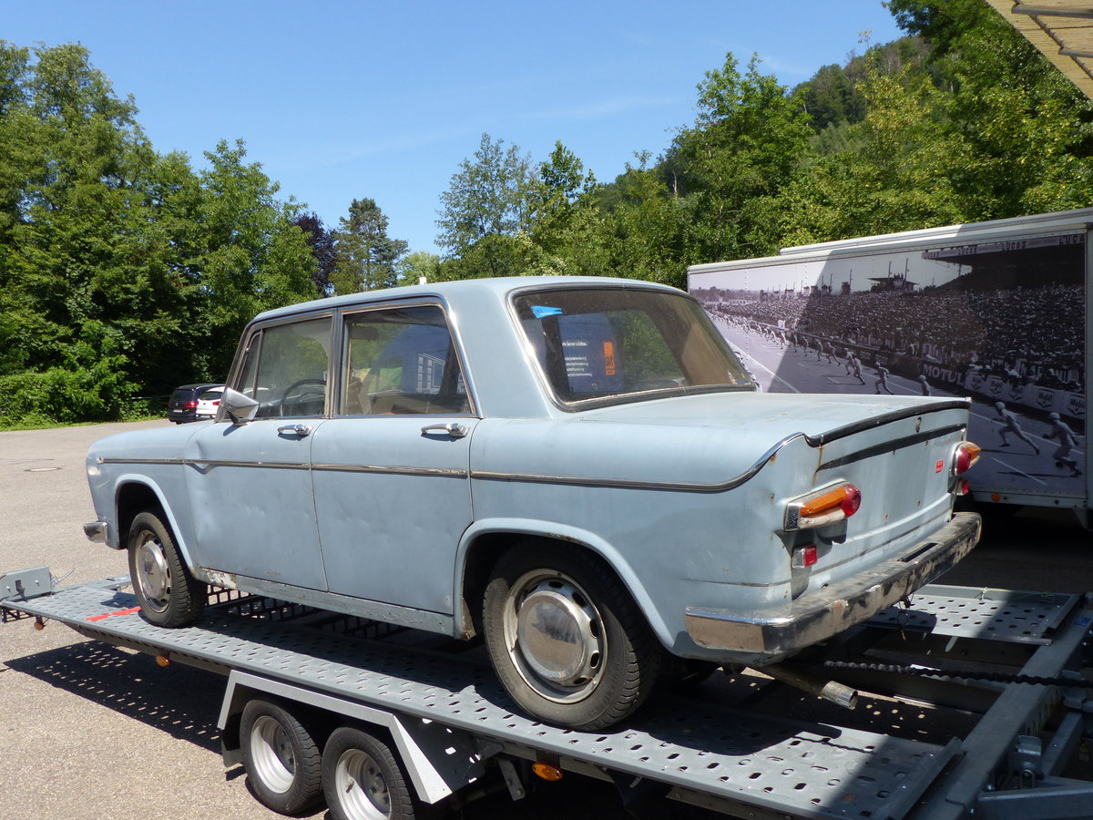 1968  Lancia Fulvia GT 1200 Sedan project-car For Sale (picture 2 of 6)