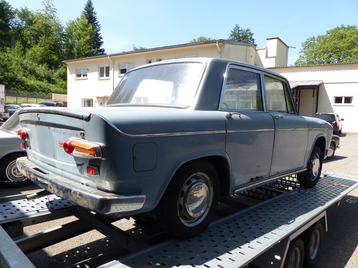 1968  Lancia Fulvia GT 1200 Sedan project-car For Sale (picture 4 of 6)