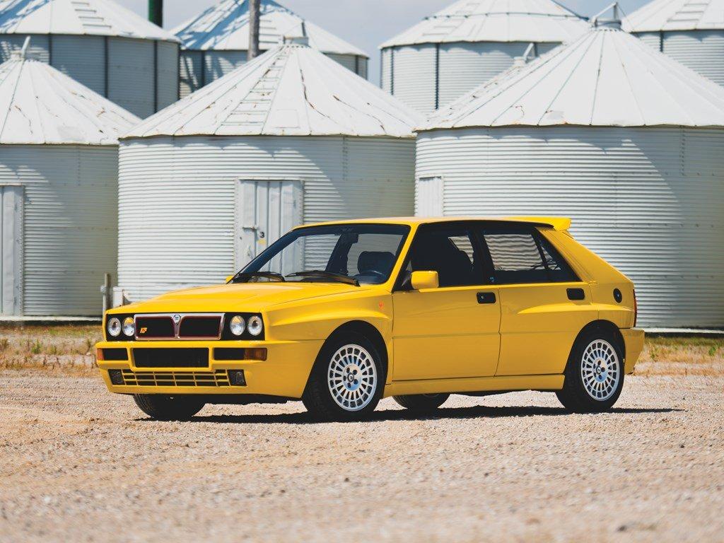 1992 Lancia Delta HF Integrale Evoluzione Giallo Ferrari  For Sale by Auction (picture 1 of 6)