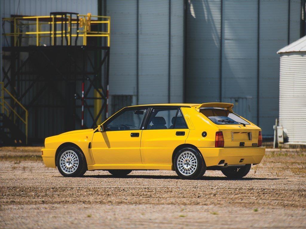 1992 Lancia Delta HF Integrale Evoluzione Giallo Ferrari  For Sale by Auction (picture 2 of 6)
