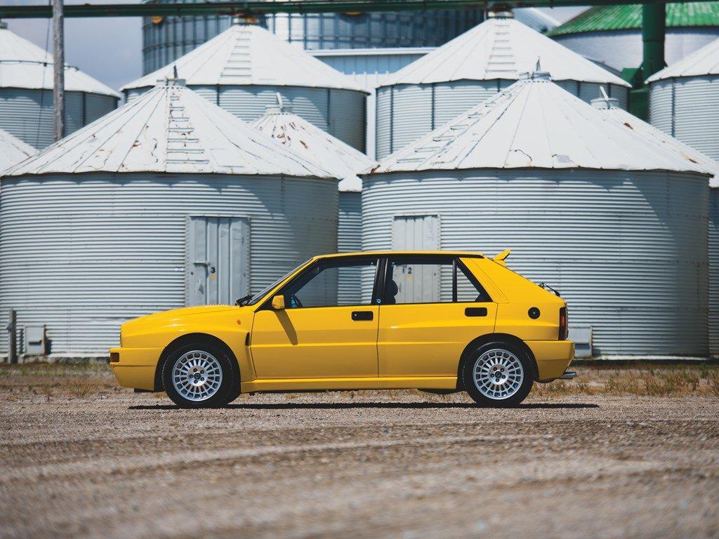 1992 Lancia Delta HF Integrale Evoluzione Giallo Ferrari  For Sale by Auction (picture 5 of 6)
