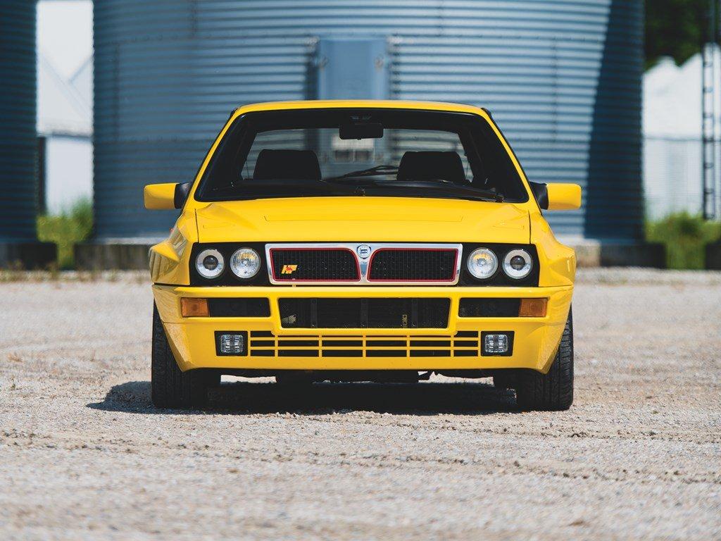 1992 Lancia Delta HF Integrale Evoluzione Giallo Ferrari  For Sale by Auction (picture 6 of 6)