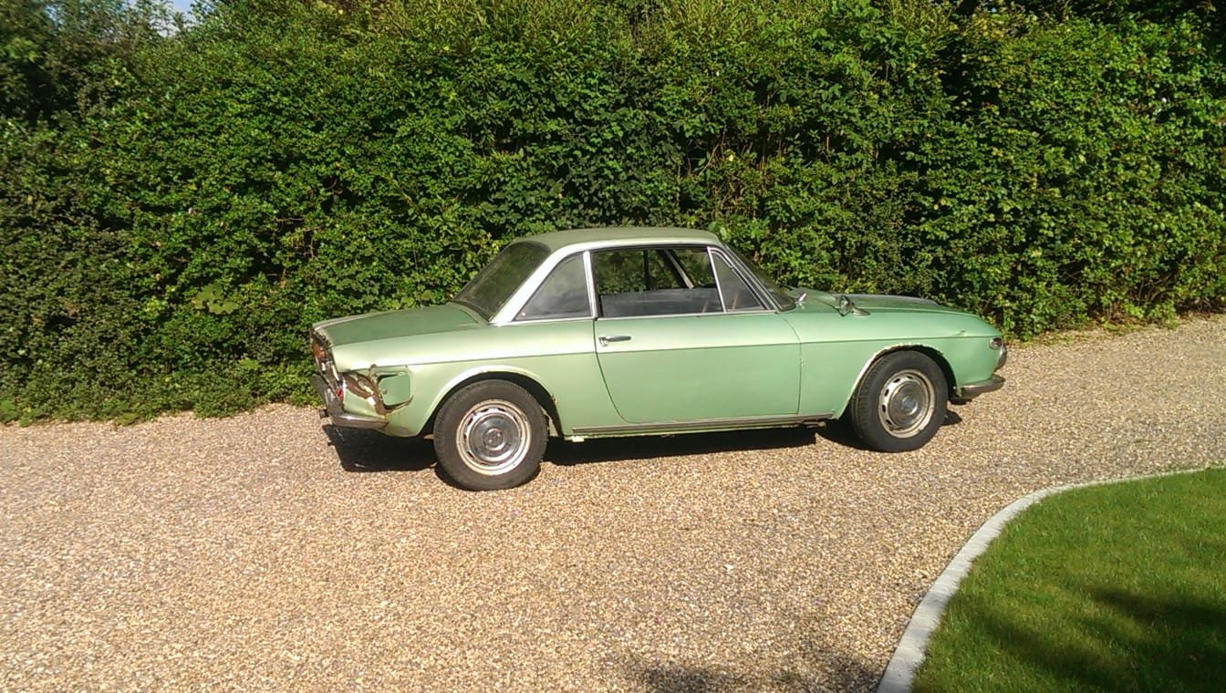 LANCIA FULVIA COUPE 1969 PROJECT SOLD............... SOLD (picture 1 of 6)
