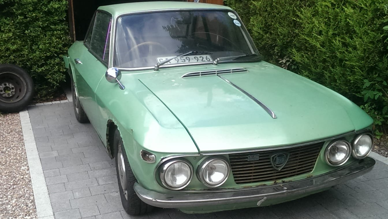 LANCIA FULVIA COUPE 1969 PROJECT SOLD............... SOLD (picture 2 of 6)