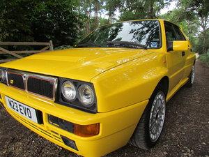 1994 Lancia Delta Intagrale EvoII Giallo Ginestra For Sale