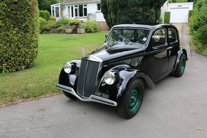 1938 LANCIA APRILIA BERLINA,Over £60k spent with Jim Stokes! For Sale