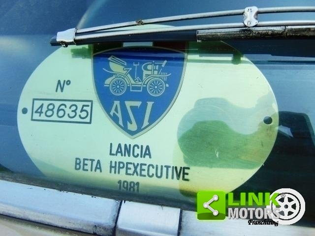 Lancia Beta HPE 1.6 Executive II serie, anno 1981, perfetta For Sale (picture 3 of 6)