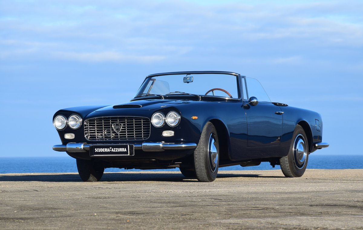 1963 Perfect restored beautiful Lancia Flaminia Convertible For Sale (picture 1 of 6)